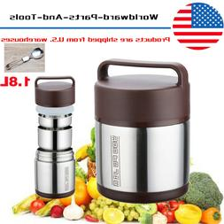 1.8L Vacuum Insulated Lunch Box 3 Tier Hot  Jar Stainless Th