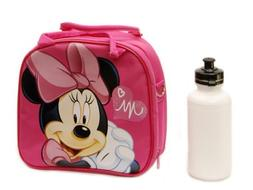 1 X Disney Minnie Mouse Lunch Box Bag with Shoulder Strap an
