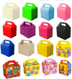 10 x Childrens Party Lunch Boxes Takeaway Boxes Birthday Wed