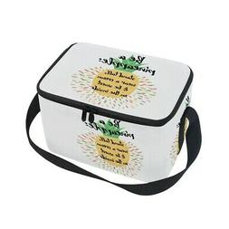 - ALAZA Be A Pineapple Insulated Lunch Bag Box Cooler