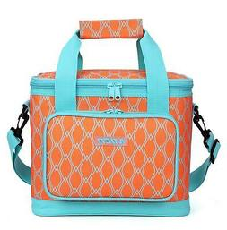 MIER 16 Can Large Insulated Lunch Bag for Women, Soft Leakpr