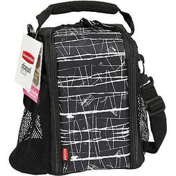 Rubbermaid 1813500 Lunch Blox small durable bag - Black Etch