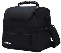 2 Compartment Lunch Bag for Men,Women Leakproof Insulated Co