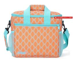 Mier 24 Can Large Capacity Soft Cooler Tote Insulated Lunch