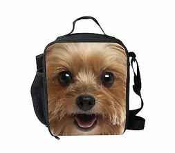 3D Animal Dog Cooler Thermal Waterproof Lunch Bag Tote Box C