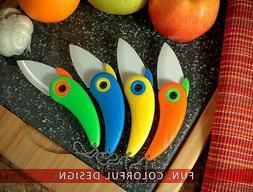 4 Pack -Bird Ceramic Foldable Paring Knife | Home, Kitchen &