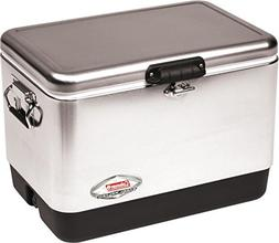 54 Qt Ss Cooler Stainless Steel C001