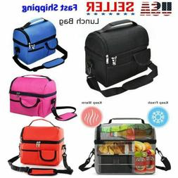 8L Insulated Lunch Box for Adult Men Women Travel Work Hot C