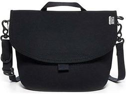 BUILT NY Bike Messenger Neoprene Lunch Bag, Black