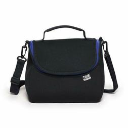 BUILT NY Bistro Neoprene Crossbody Lunch Bag, Black