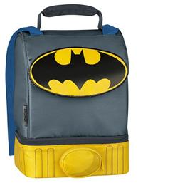 Batman Cape Lunch Box Bag Dual Compartment by Thermos Compan