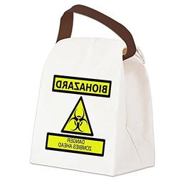CafePress - Biohazard Canvas Lunch Bag - Canvas Lunch Bag wi