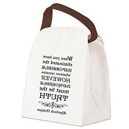 CafePress - Canvas Lunch Bag - Canvas Lunch Bag with Strap H