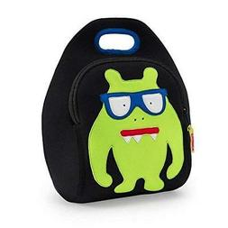 Dabbawalla Bags Monster Geek Kids' Insulated Washable & Eco-