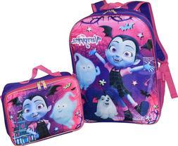 Disney Vampirina Girls School Backpack Lunch Box Combo SET B
