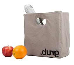 Fluf Big Lunch, Organic Cotton Lunch Bag, Grub