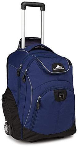 Powerglide Backpacks Wheeled Laptop Backpack, True Navy/Blac