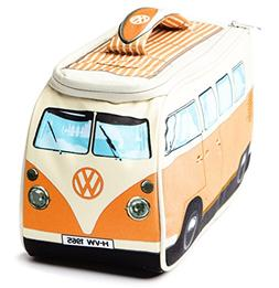 VW Volkswagen T1 Camper Van Lunch Bag - Orange - Multiple Co