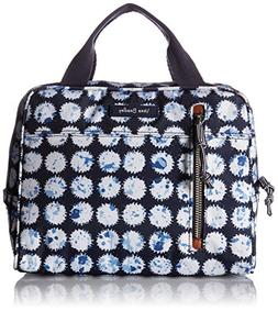 Vera Bradley Lighten up Lunch Cooler, Polyester, Splash Dot,