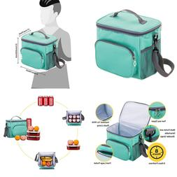 Adult Lunch Box Insulated Bag LARGE Cooler Tote For Men & Wo