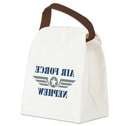 CafePress Air Force Nephew Canvas Lunch Bag with Strap Handl
