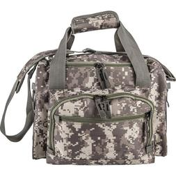 "13"" Army Digital Camo Cooler Lunch Bag Box with Zip-Out Line"