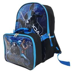 Marvel Avengers Black Panther Kids Backpack with Lunch Bag S