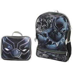 "Marvel Avengers Black Panther Kids Boys 16"" School  Backpack"