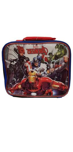 Marvel Avengers Kids Lunch Bag for Boys - 8 Inch
