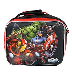 Marvel Avengers Lunch Bag Ironman Hulk Thor Black Widow Falc