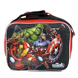 Marvel Avengers Lunch Bag Ironman Hulk Thor Black Widow Falc