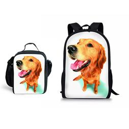 Back To School Personality Backpack Bookbag With Lunchbag Co