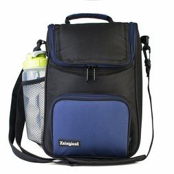 Bag Lunch Thermal Shoulder Side Pockets And Front Camping Be
