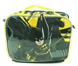 Batman Boys Lunch Box Bag Insulated with Shoulder Strap for