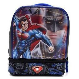 Batman Vs Superman Dual-Compartment Childrens Kids Boys Girl