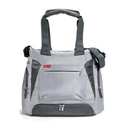 Skip Hop Baby Bento Meal-to-Go Diaper Bag, Platinum Grey