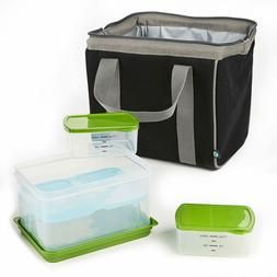 Big Phil Lunch Bag Kit with Lunch on the Go Container Set