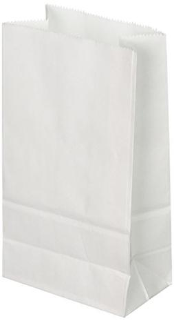 Big Value White Paper Crafting Bags 40/pk