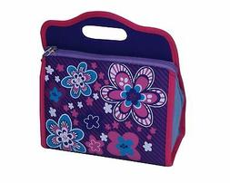 Neat-Oh Blossom Bags Blue Lunch Box