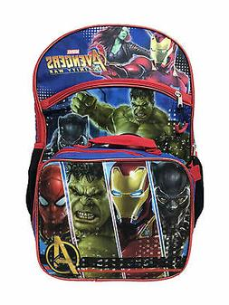 Boys Avengers Infinity War Backpack with Detachable Insulate