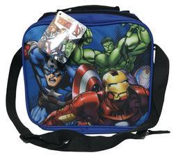 Boys Marvel Avengers Insulated Lunch Bag - Blue