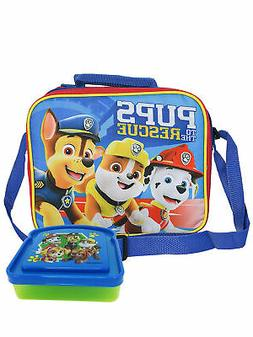 Boys Paw Patrol Insulated Lunch Bag w/ Shoulder Strap & Sand