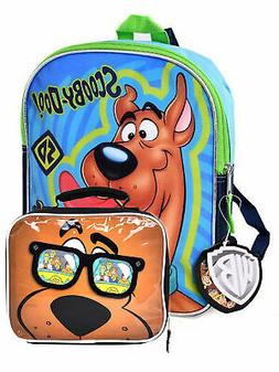 """Boys Scooby Doo Mini Backpack 11"""" & Insulated Lunch Bag Shag"""