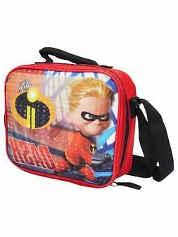 Boys The Incredibles Dash Insulated Lunch Bag with Shoulder