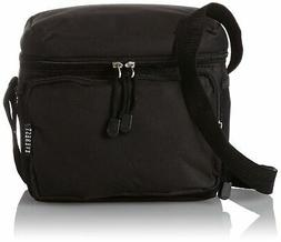 Brand New Everest Cooler Lunch Bag, Black, One Size