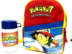 Thermos Brand Pokemon Reusable Insulated School Lunch Bag wi