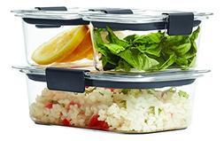 Rubbermaid Brilliance Food Storage Container, BPA-free Plast