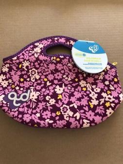 BYO by BUILT NY Rambler Neoprene Lunch Bag Ditzy Floral Bran