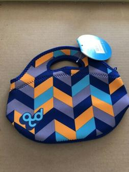 BYO by BUILT NY Rambler Neoprene Lunch Bag Mod Chevron Brand