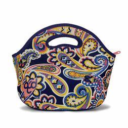 BYO 5211075 Rambler Insulated Neoprene Zippered Lunch Bag, P